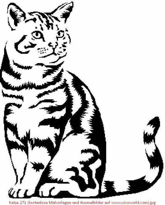 Beautiful Cat Painting Cat Painting Catart Malvorlagen Tiere Ausmalbilder Katzen Tiere