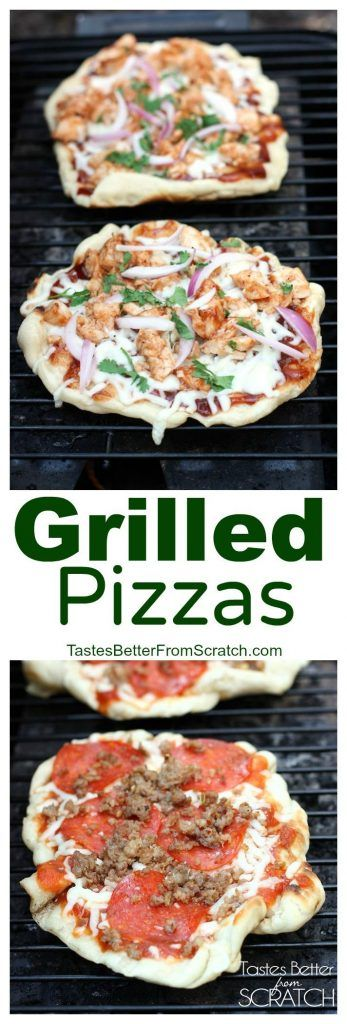 Grilled Pizzas