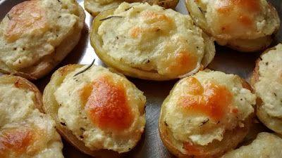 Mundo Vegetariano da Rosana: Batata Barata no Forno