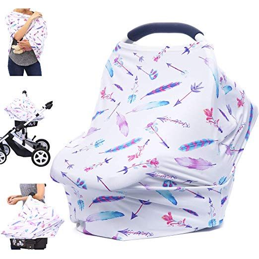 Car Seat Covers For Babies Nursing Cover Carseat Canopy Multi Use Breastfeeding Covers Girls And Boys Baby Shower Gifts Review Baby Shower Gifts For Boys Breastfeeding Cover Carseat Cover