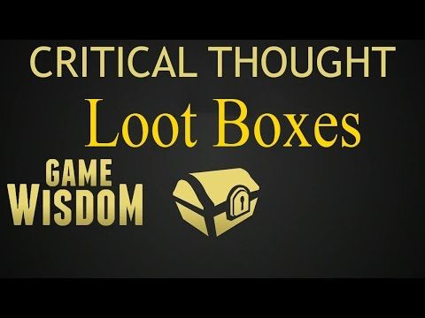 Gamasutra: Josh Bycer's Blog - The Luck and Loss Behind Loot Boxes