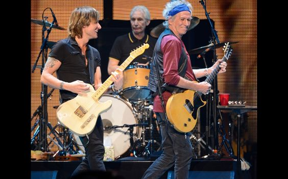 The Rolling Stones At Staples Center | GRAMMY.com: Urban Rolling, Center Grammy, Keith Richards, Keith Urban Deluxe, Urban Photostream, Music Rolling Stones, Staples Center, The Rolling Stones, Keith Urban Yum