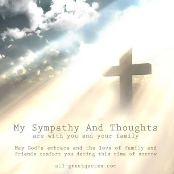 Words Of Sympathy New World: My Sympathy And Thoughts Are With You