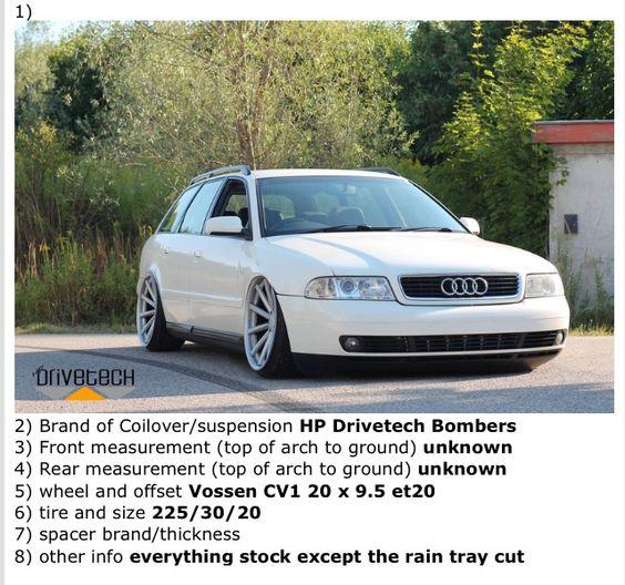 2000-2001 Audi A4 Stance