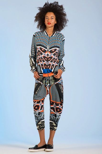 African Prints in Fashion: Prints are an Attitude: Clover Canyon Resort 2014