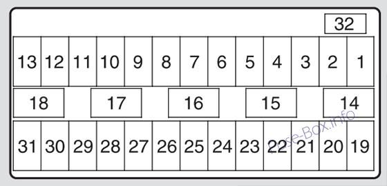 Acura TSX (CU2; 2009, 2010, 2011, 2012, 2013, 2014) Fuse box diagram | Acura  tsx, Acura tl, AcuraPinterest