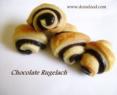 Easy Chocolate Rugelach Recipe — Dishmaps