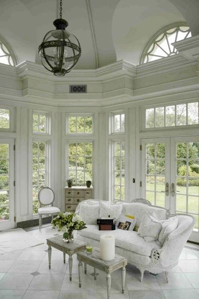 Sunrooms window and southern porches on pinterest for Beautiful window design