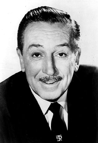 """Walter Elias """"Walt"""" Disney (December 5, 1901 – December 15, 1966) was an American film producer, director, screenwriter, voice actor, animator, entrepreneur, entertainer, international icon, and philanthropist, well known for his influence in the field of entertainment during the 20th century. Along with his brother Roy O. Disney, he was co-founder of Walt Disney Productions, which later became one of the best-known motion picture producers in the world. """"If you can dream it, you can do it."""""""
