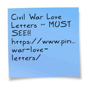 Civil War Love Letters Missouri History Museum Project