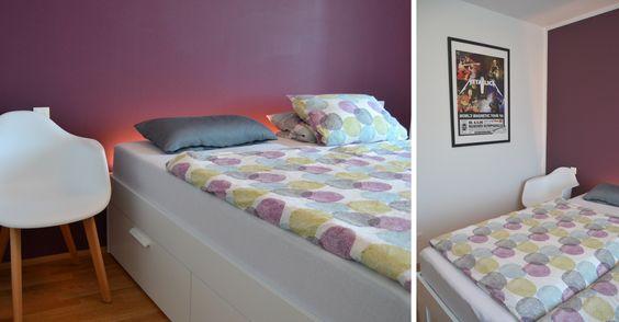 Ideen für die Schlafzimmer-Einrichtung bekommt ihr hier Wir haben