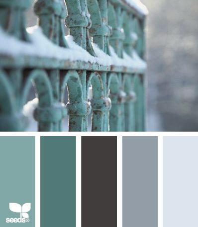 Winter Paint Palettes And Design Seeds On Pinterest