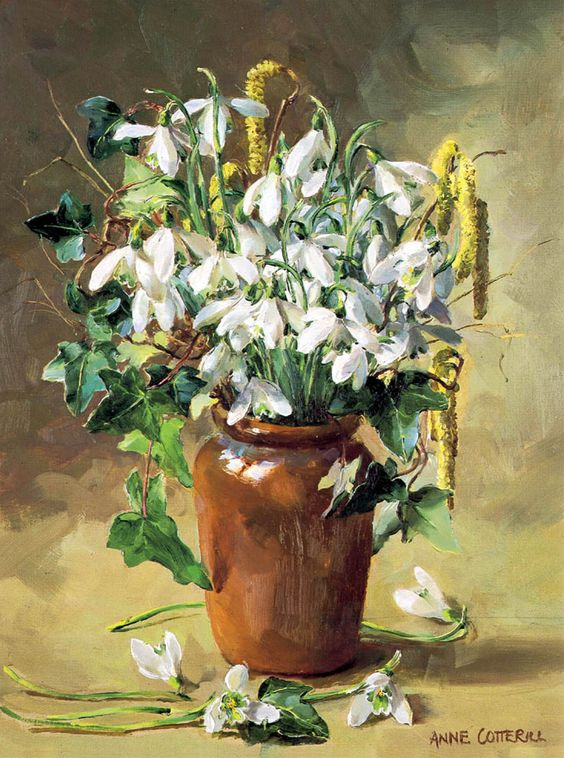 Gallery of Anne Cotterill Reproduction Flower Prints and Fine Art Cards. | Mill House Fine Art – Publishers of Anne Cotterill Flower Art: