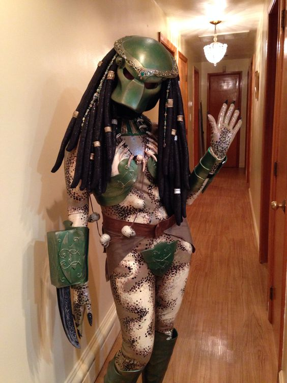 Female Predator costume....my labor of love! | Love ...