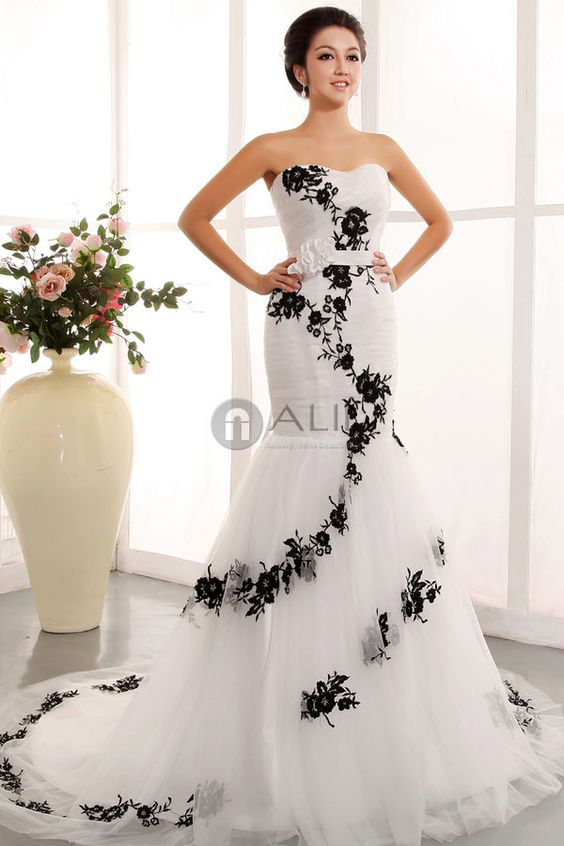 puffy lace tulle strapless corset wedding dress nalii strapless ...
