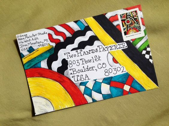 Mail Art entry 9a: