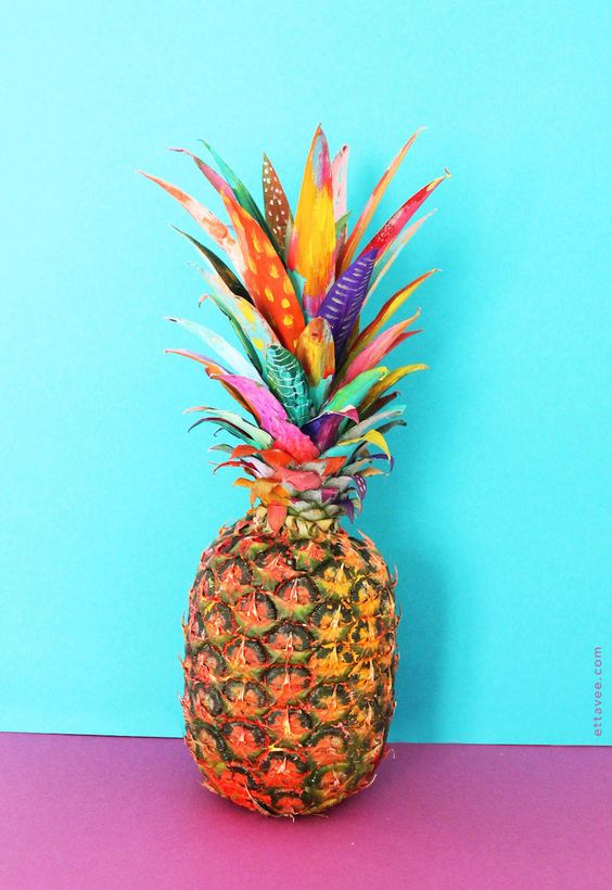 Series of Colorful Illustrative Exotic Fruits – Fubiz Media: