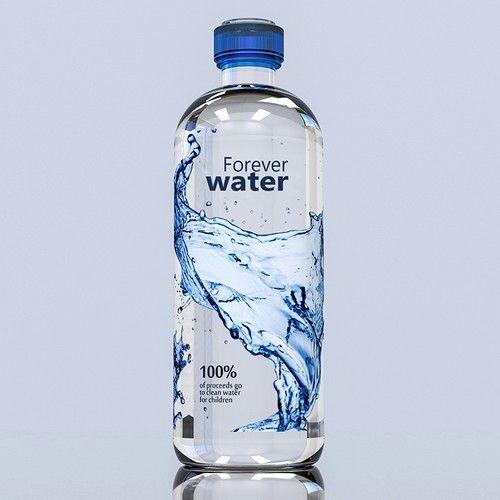 34 Unique Water Bottle Label Design Designerpeople Water Bottle Label Design Bottle Label Design Unique Water Bottle
