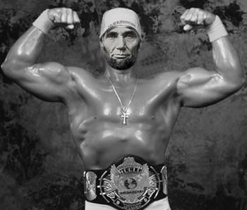 Image result for abe lincoln wrestler