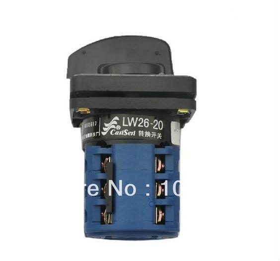 $17.05 (Buy here: https://alitems.com/g/1e8d114494ebda23ff8b16525dc3e8/?i=5&ulp=https%3A%2F%2Fwww.aliexpress.com%2Fitem%2F1-Rotary-Switch-Size-79-44-44mm-Cam-Changeover-Switch-20A-3Position-12-Terminal%2F1697368944.html ) (1)Rotary Switch Size 79*44*44mm Cam Changeover Switch 20A 3Position 12 Terminal for just $17.05