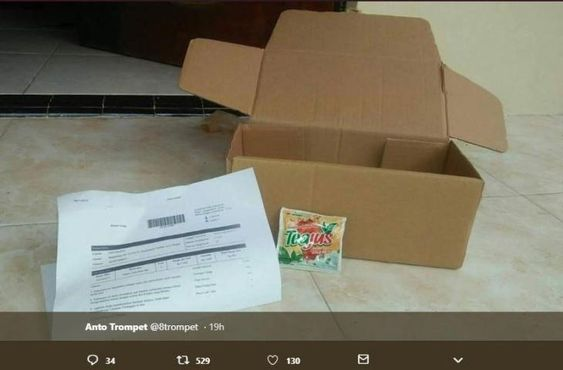 Belanja Satu Minuman Sachet Rp 400, Netizen Ini Kaget