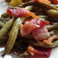 Arkansas Green Beans - My Mother-in-Law made these for Easter and they were the best I have ever tasted!