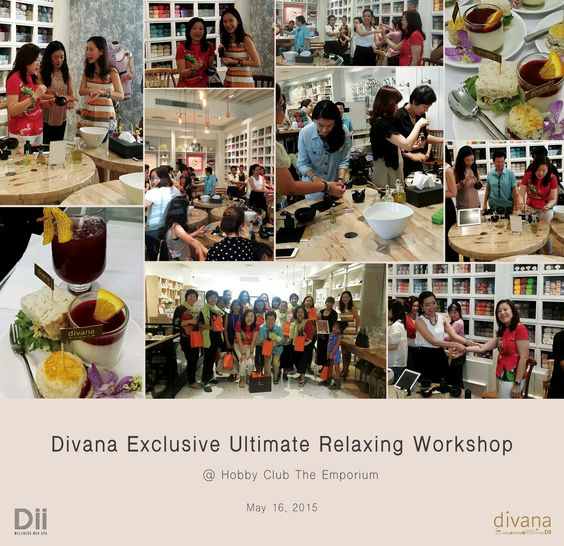Divana Exclusive Ultimate Relaxing Workshop @ Hobby Club The Emporium