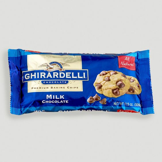 Homemade Ghirardelli Chocolate Chip Cookies Nutrition