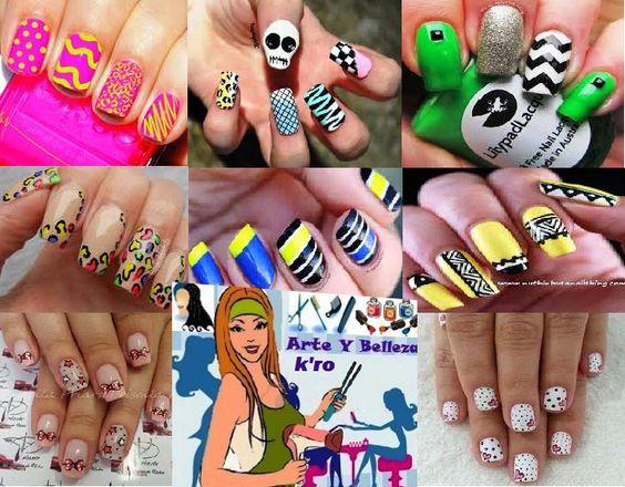 Arte y color en tus uñas manicura y cambio esmalte según diseño