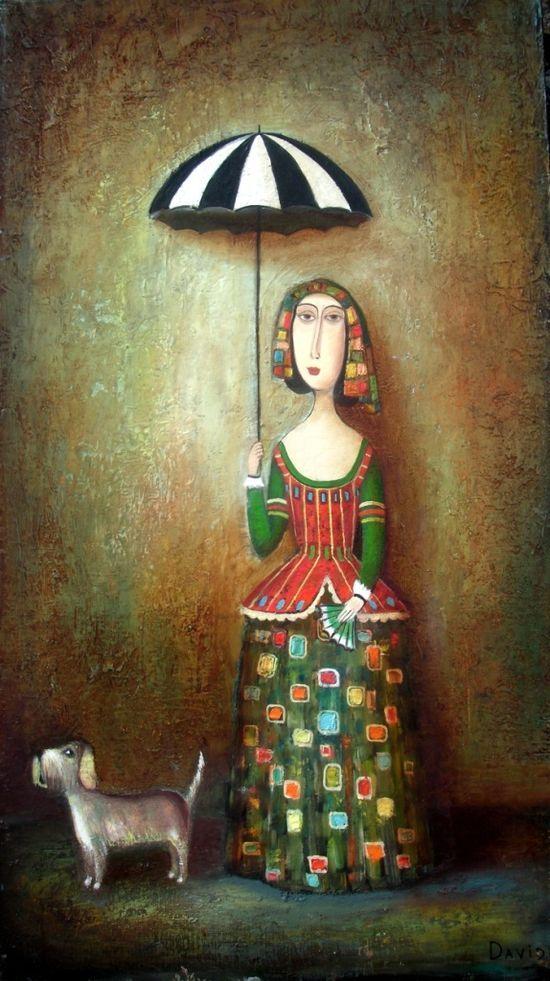 Davis Martiashvili Russian painter: