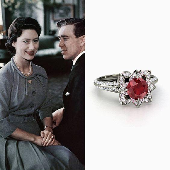 Princess Margaret's engagement ring