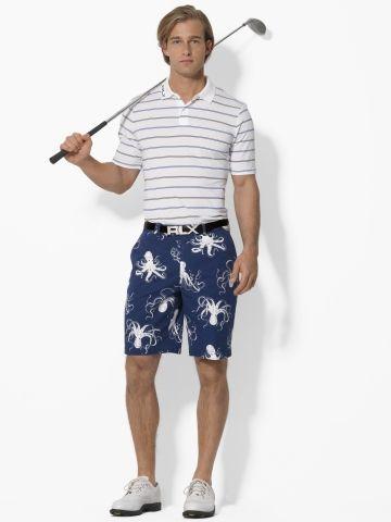 Ralph Lauren octopus golf shorts