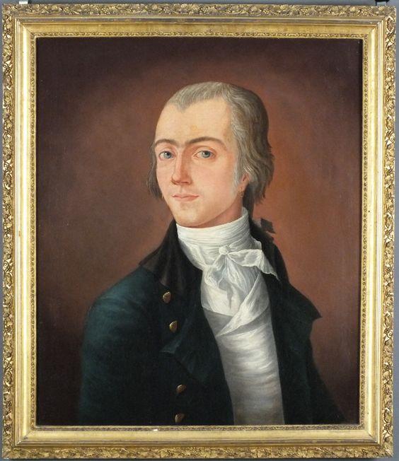 Captain John Barton, Michele Felice Corne, Salem circa 1800