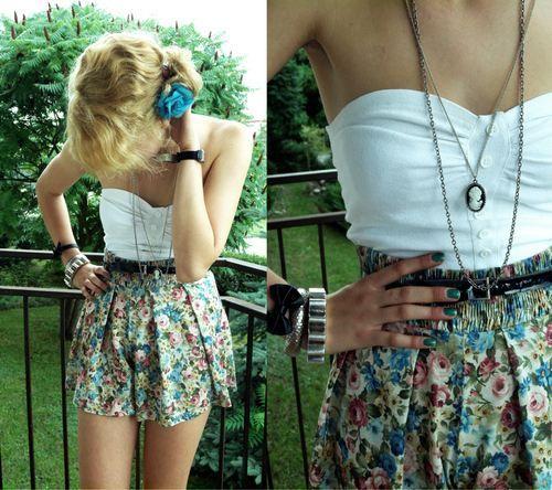 .: Summer Dress, Floral Skirts, Dream Closet, Cute Outfits, Spring Summer, Summer Outfits, Dreamcloset, Mystyle, My Style
