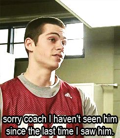 hahahahahah when the coach asks you where someone is.......