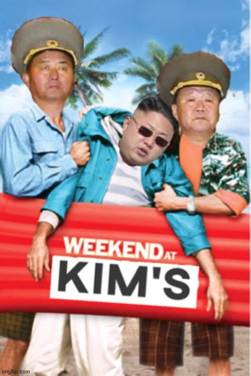 Weekend at Kim's | Red wine Communist®