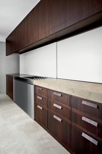 Concealing cabinetry gone // weiss cucinebianchi kitchen classic ...