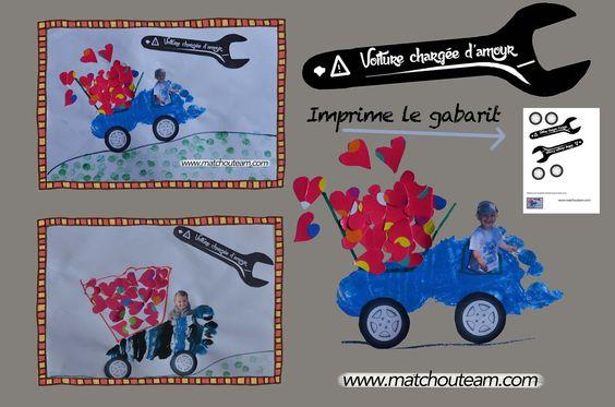 www.matchouteam.com Fête des pères!! |     Attention, voiture chargée d'amour!!!