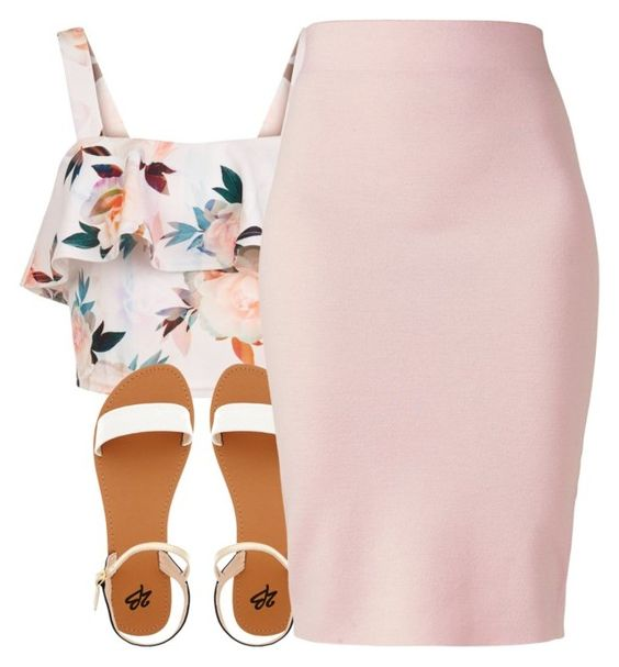 """""""→"""" Woah Kemosaibe""""←"""" by trap-ical ❤ liked on Polyvore featuring New Look, 2b bebe and Winser London"""