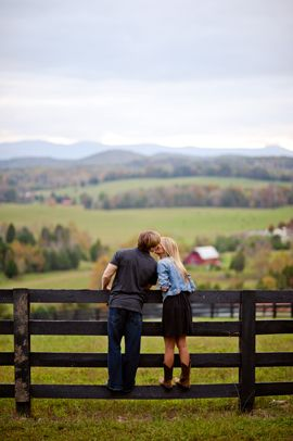 engagement pic, love this, looks so much like Boone