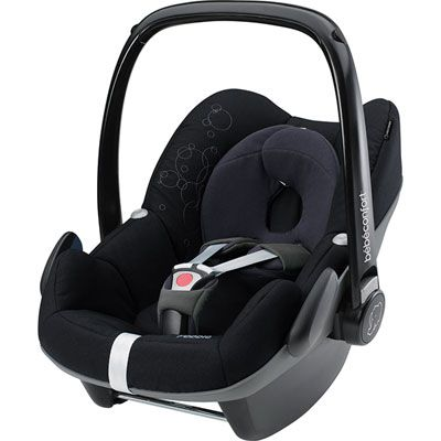 Bebe confort Siege auto pebble total black - groupe 0+