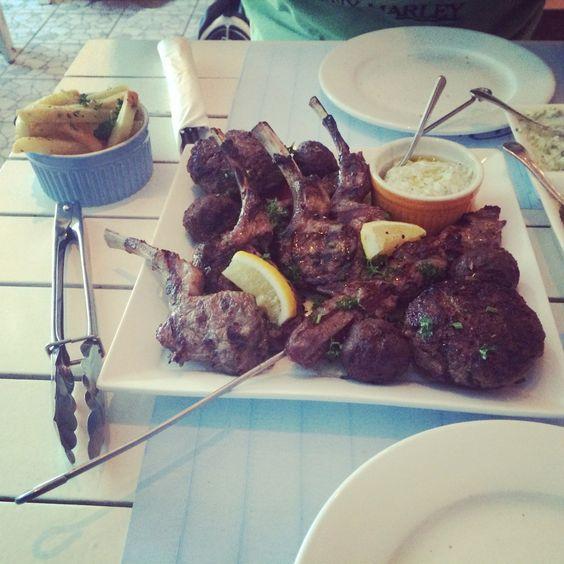 Meat platter - greek