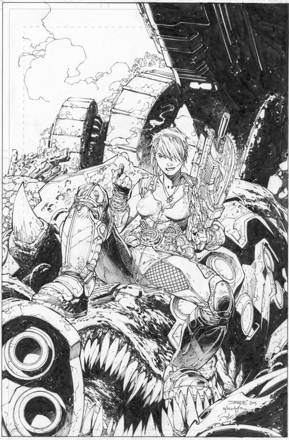 Lee_and_Williams_Gears_of_War_by_INKIST