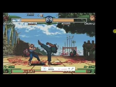 Jogue Street Fighter Alpha 3 Gba Game Boy Advance Gratuitamente Em