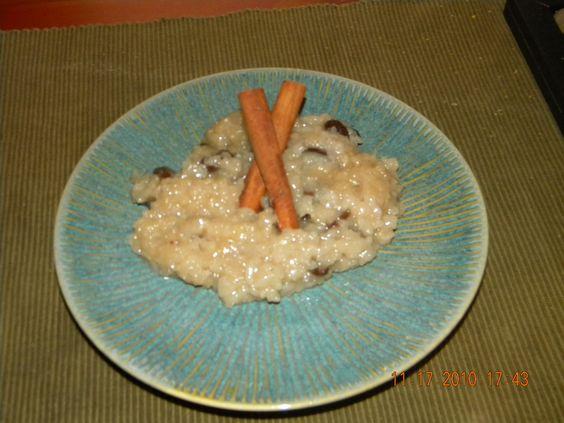 arroz con dulce