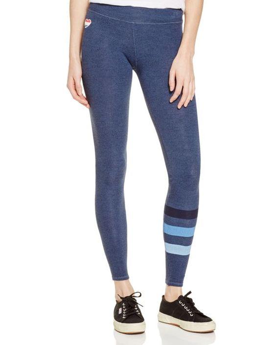 Sundry Striped Yoga Pants