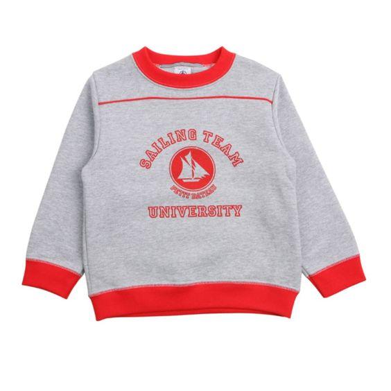 PETIT BATEAU ENFANT University Sweat