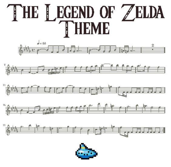 Piano u00bb Piano Tabs Zelda - Music Sheets, Tablature, Chords and Lyrics