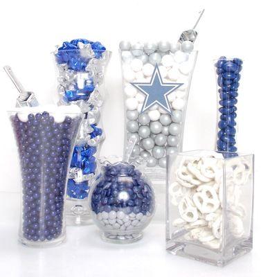 Dallas Cowboys Candy Buffet Kit