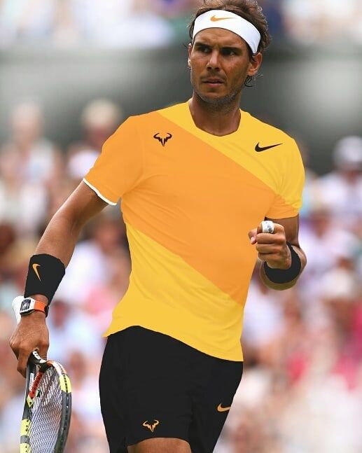Rafa Concept Outfit Using Spring 2019 Nike Colorway Rafaelnadal Nikecourt Concept Outfit Designed By Varcdador Rafanadal Nadal Outfits Nike Rafa Nadal